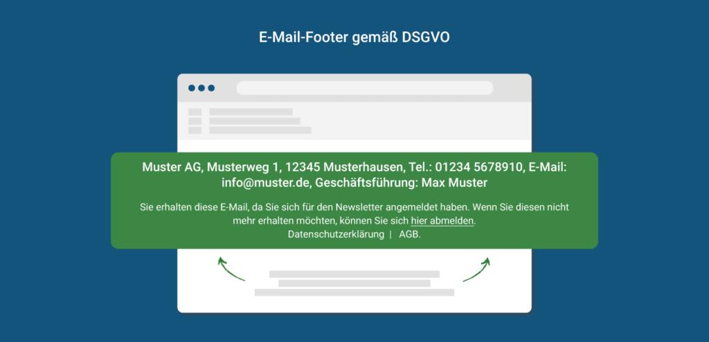 E-Mail-Footer DSGVO-konform gestalten