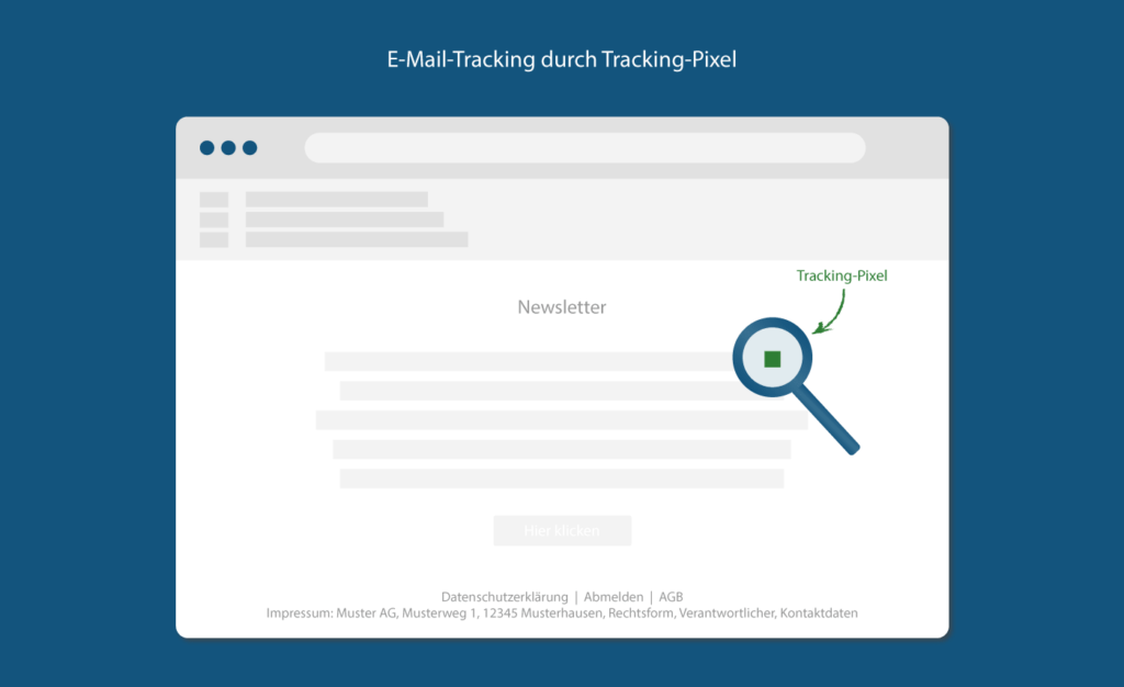 E-Mail-Tracking DSGVO durch Tracking Pixel