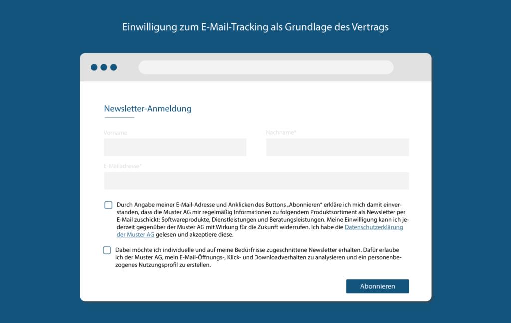 E-Mail-Tracking DSGVO-konform mit Einwilligung
