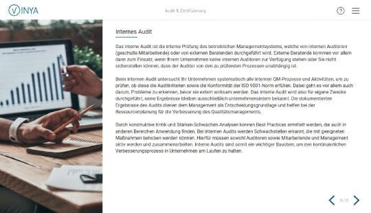 Qualitätsmanagement Schulung für Mitarbeiter: Audit & Zertifizierung